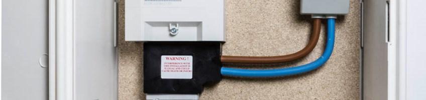 Electricity Meter Security Angle Blocks Custom Design Group